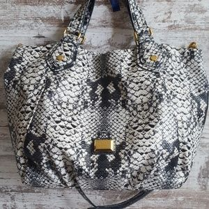⚅Like New Marc Jacobs XL Snakeskin Tote